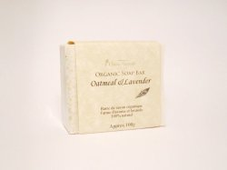 Photo1: Oatmeal & Lavender Soap Bar